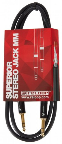 RELOOP Cable Superior Stereo Jack M / Stereo Jack M 1,5 m