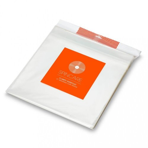 """Spincare CLARITY 50ks 12"""" GATEFOLD Resealable Outer Record Sleeves"""